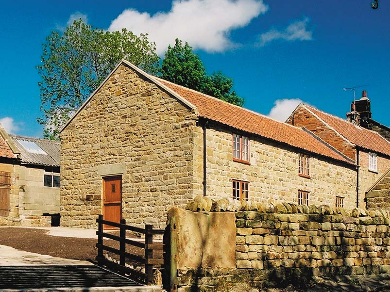 The Barn cottage used to be part barn, part milking parlour and part granary.