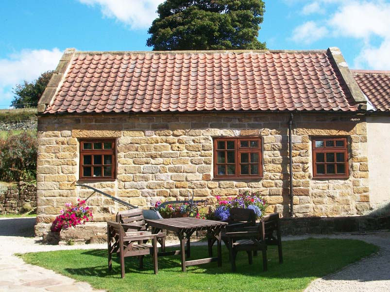 The cowbyre was converted most recently. It was used as a milking parlour until the 1970s.
